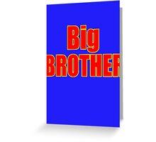 Big Brother Kids Clothing - T-Shirt Greeting Card