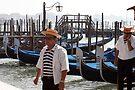 "Gondolas and Gondolieri  by Christine ""Xine"" Segalas"