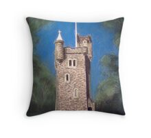 Helen's Tower, Bangor, Northern Ireland (the original one!) Throw Pillow