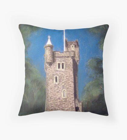 Helen's Tower, Bangor, Northern Ireland (the original one!) Throw Pillow