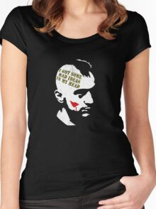 Taxi Driver, Travis Bickle Women's Fitted Scoop T-Shirt