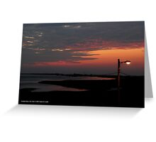 When Sun Is Tired To Shine Help Is Here | Hampton Bays, New York Greeting Card
