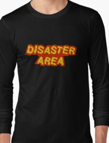 Disaster Area band t-shirt Long Sleeve T-Shirt