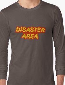 Disaster Area band t-shirt Long Sleeve T-Shirt