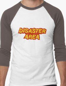 Disaster Area band t-shirt Men's Baseball ¾ T-Shirt