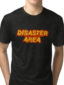 Disaster Area band t-shirt Tri-blend T-Shirt
