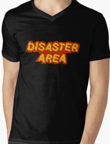Disaster Area band t-shirt Mens V-Neck T-Shirt