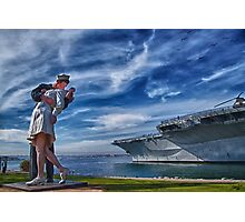 San Diego Sailor Photographic Print
