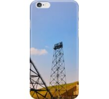 Butte Montana Headframe - Mining Heritage iPhone Case/Skin