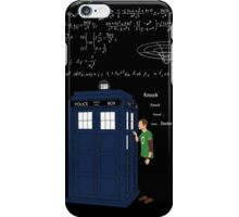 HE WILL KNOCK 4 TIME iPhone Case/Skin