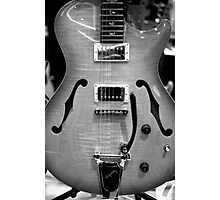 Bigsby B7 Tremelo on Guitar Photographic Print