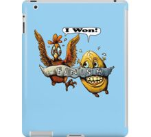 Who came first? iPad Case/Skin