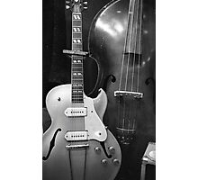 Guitar & Upright Bass @ Sun Studio Photographic Print