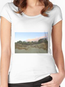 Beach at Robe Women's Fitted Scoop T-Shirt