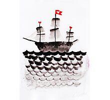 Battleship Love Photographic Print