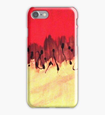 half n half blood iPhone Case/Skin