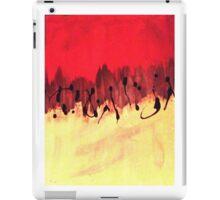 half n half blood iPad Case/Skin