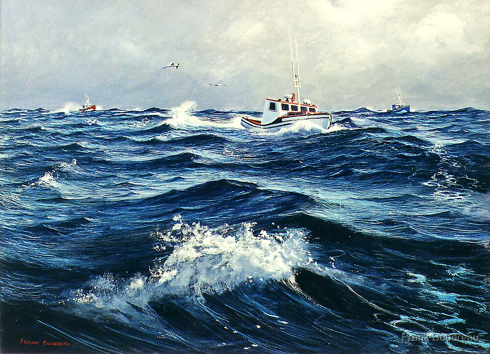 """""""Beating The Storm"""" by Frank Boudreau"""