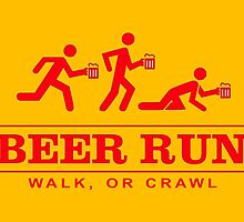 Beer Run by Draw2LUV