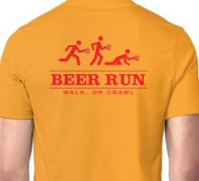 Beer Run Unisex T-Shirt