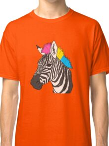 The Pride Zebra - Pansexual Version Classic T-Shirt