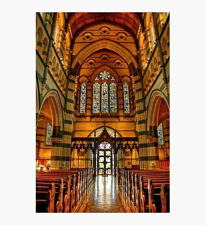 The Nave in St Paul's Cathedral Photographic Print
