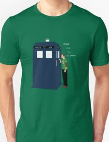 HE WILL KNOCK 4 TIME v2 Unisex T-Shirt