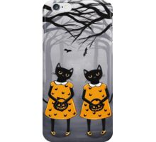 The Halloween Twins iPhone Case/Skin