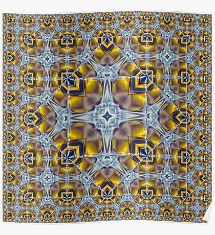 Escher's Beer Glass Poster