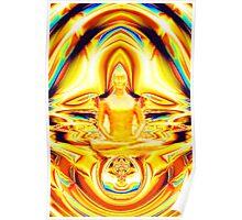 Aura & Meditation Poster