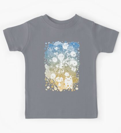 Spaced Funny Bunny Whotsit Kids Clothes