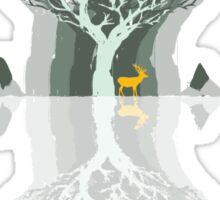Frozen Reflection - Daylight Sticker