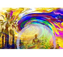 Meditation & Colors Photographic Print