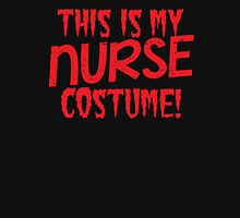 This is my NURSE costume Womens Fitted T-Shirt