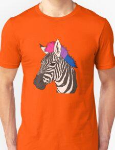 The Pride Zebra - Bisexual Version Unisex T-Shirt