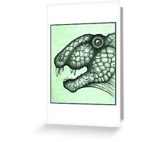 ~Dimetrodon Grandis~ Greeting Card