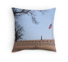A Nation's Honor Throw Pillow