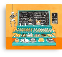 The Halloween Bakery Canvas Print