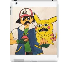 Too young! Too young to rule the KANTO! iPad Case/Skin