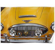 Big Healey (1966 Austin Healey 3000 Mk III) Poster