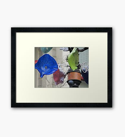 Inspiration in the Wind Framed Print