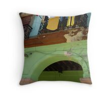 Above the Arch Throw Pillow