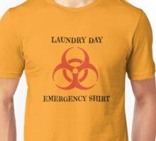 Laundry Day Emergency Biohazard Unisex T-Shirt