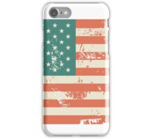 Grungy US flag iPhone Case/Skin