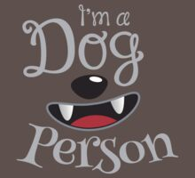 I'm a DOG PERSON doggy dogs One Piece - Short Sleeve