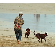 Go Fetch ... Photographic Print