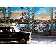 Mumbai Mural, Taxi Photographic Print