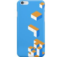 Isometric Tetris Cube iPhone Case/Skin