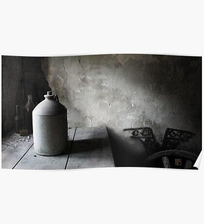 The Stone Jar Still Life Poster