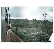 Sri Lanka Hill Country Train, Plate 2 Poster